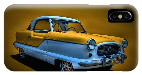 1957 Nash Metropolitan IPhone Case