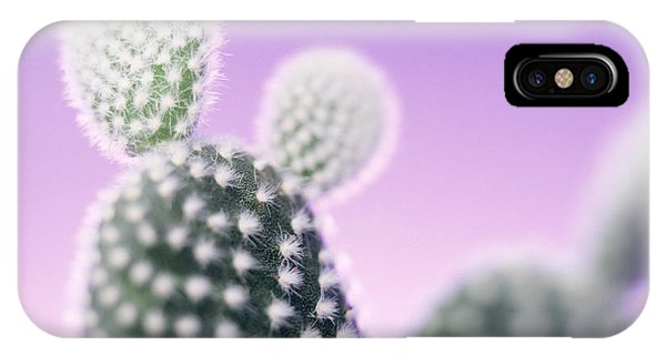Cactus Plant Spines Phone Case by Lawrence Lawry