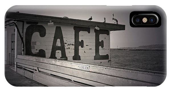 iPhone Case - Cafe On The Pier by Kelly Holm