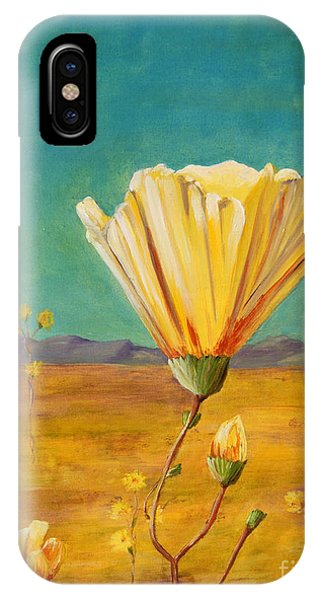 California Desert Closeup IPhone Case