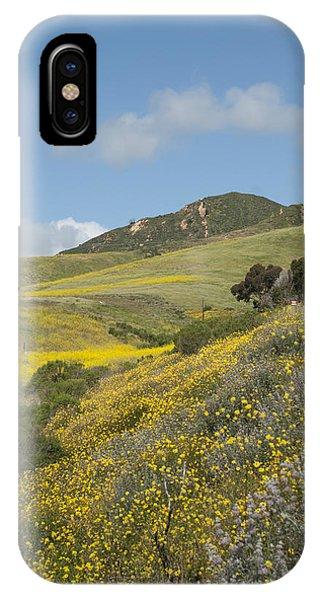 California Hillside View I IPhone Case
