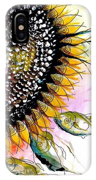 California Sunflower IPhone Case