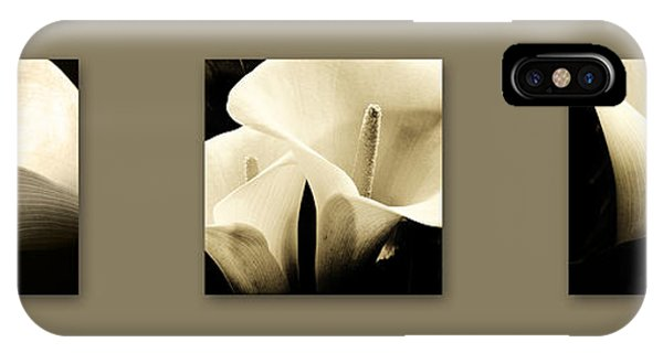 Calla Lilies Art IPhone Case