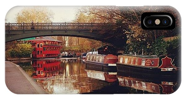 London iPhone Case - #camden #camdencanal #camdentown by Ozan Goren