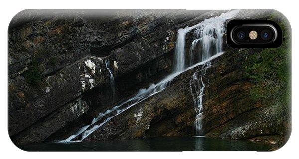 Cameron Falls Waterton Lakes National Park IPhone Case
