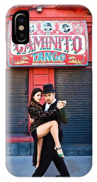 Caminito Tango IPhone Case