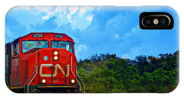 Canadian Northern Railway Train IPhone Case
