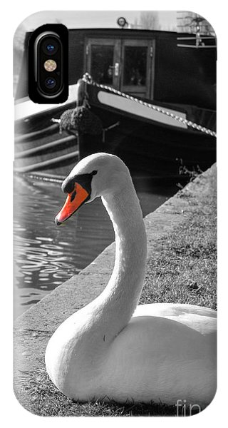 Canal Swan IPhone Case