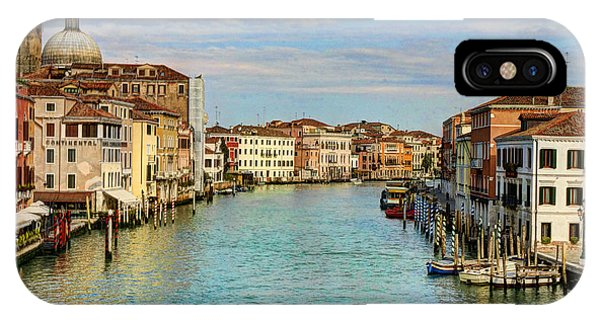 Canals Of Venice  IPhone Case
