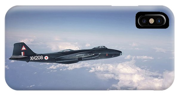 Canberra iPhone Case - Canberra Bi 8 by Pat Speirs