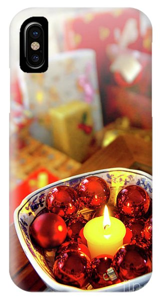 Fire Ball iPhone Case - Candle And Balls by Carlos Caetano
