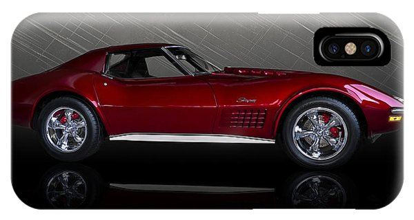 Chevrolet iPhone Case - Candy Apple Corvette by Douglas Pittman