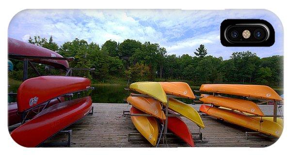 Canoe Rentals IPhone Case