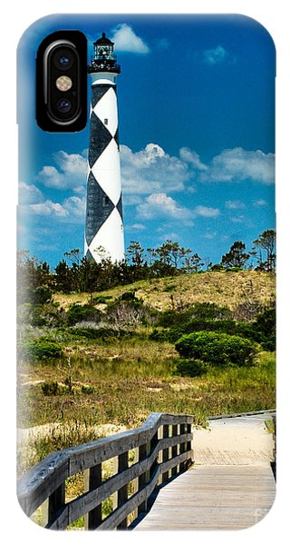 Cape Lookout Light IPhone Case