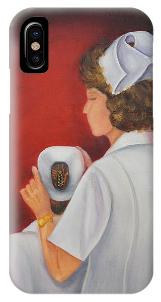 Capping A Tradition Of Nursing IPhone Case