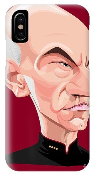 Captain Jean Luc Picard IPhone Case