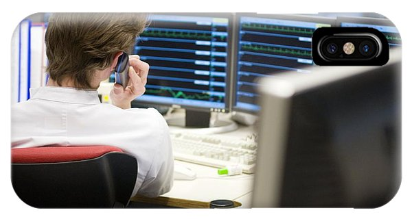 Cardiology Nurses Station Phone Case by Arno Massee