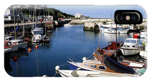 Powerboat iPhone Case - Carnlough, Co. Antrim, Ireland by The Irish Image Collection