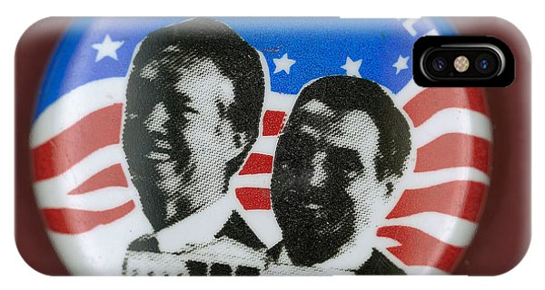 Carter Campaign Button IPhone Case