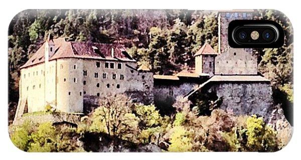 Fantasy iPhone Case - Castel Tirolo... Domina Merano E Tutta by Luisa Azzolini