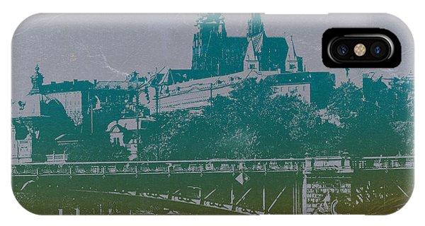 Old World iPhone Case - Castillo De Praga by Naxart Studio