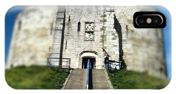Fantasy iPhone Case - #castle #york #yorkuk #uk #england by Abdelrahman Alawwad