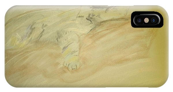 Cat Sketch IPhone Case