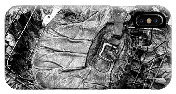 Catcher's Mitt And Bike Basket IPhone Case