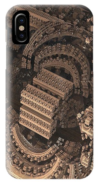 Science Fiction iPhone Case - Cathedral 1 Detail by Jacob Bettany