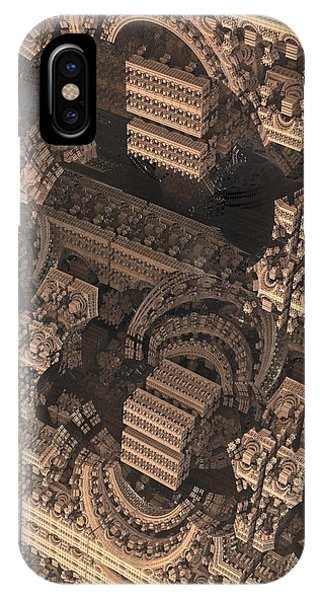 Science Fiction iPhone Case - Cathedral 1 by Jacob Bettany