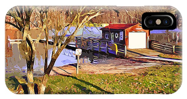 Catoctin Mountain Park iPhone Case - Catoctin Lake Boathouse by Stephen Younts