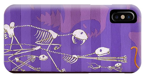 Cats Phone Case by Christy Beckwith