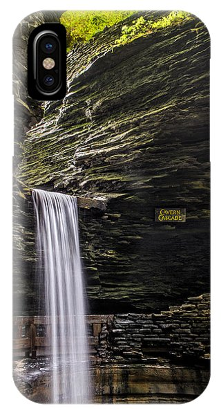 Cavern Cascade IPhone Case