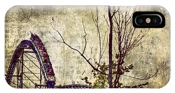 #cedarpoint #rollercoaster #ohio Phone Case by Pete Michaud