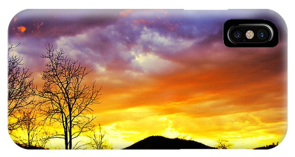 Sun Set iPhone Case - Celebration Of Night by Betsy Knapp