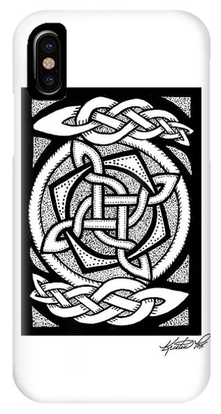 Celtic Knotwork Rotation IPhone Case