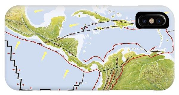 Central America Tectonic Plates Diagram Photograph By Gary Hincks