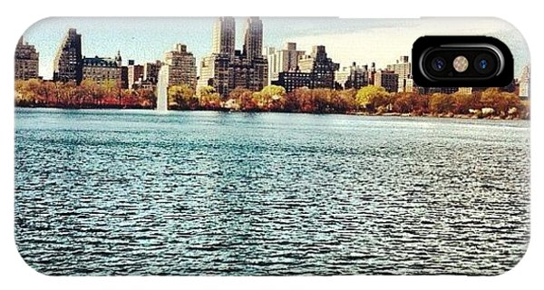 City Scape iPhone Case - Central Park by Lizzy M