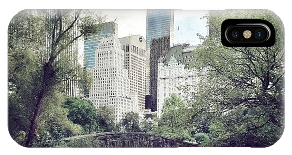 City iPhone Case - Central Park by Randy Lemoine