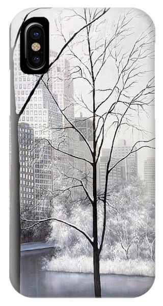 Central Park Vertical IPhone Case