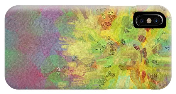 Central Sun Of The Galaxy IPhone Case