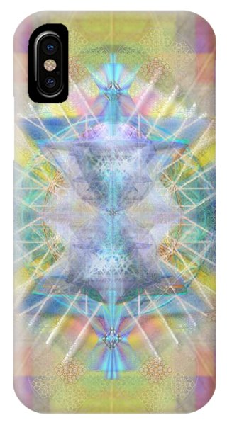 Chalice Of Vortexes Chalicell Rings On Renaissance Back Phone Case by Christopher Pringer