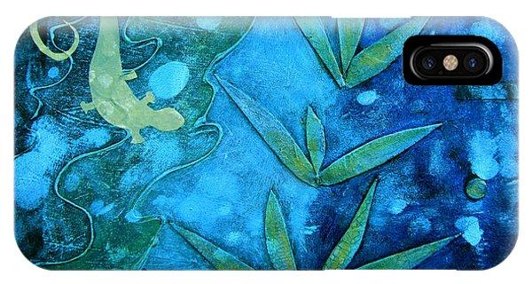 Chameleon  Phone Case by Ann Powell