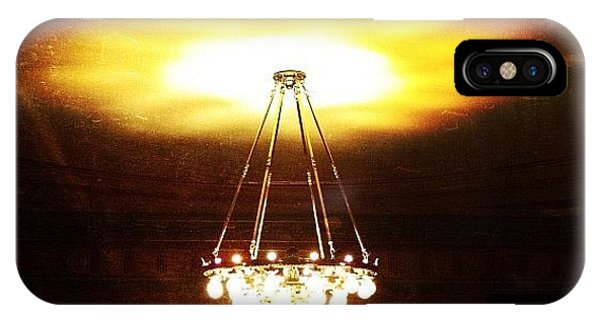 Light iPhone Case - Chandelier by Natasha Marco