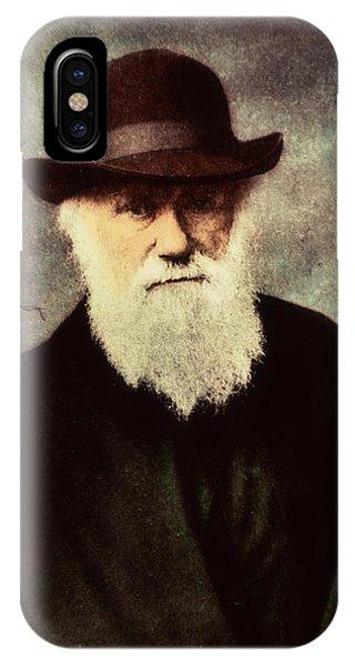 Charles Darwin Phone Case by