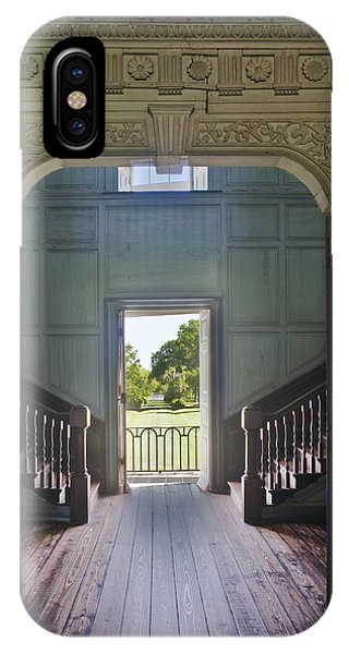 Charleston Drayton Hall 18th Century Phone Case by Rob Tilley