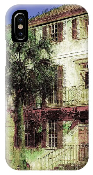 IPhone Case featuring the photograph Charleston Homes by Donna Bentley