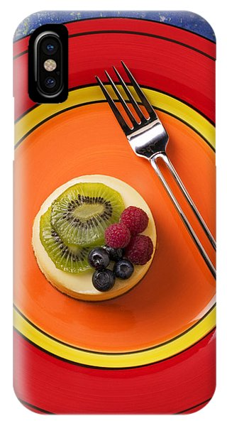 Cheesecake On Plate IPhone Case