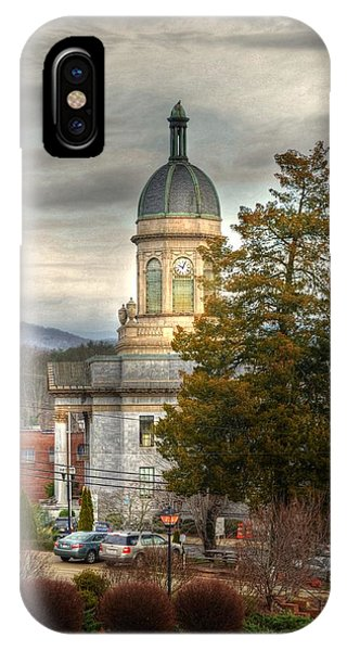 Cherokee County North Carolina Courthouse IPhone Case