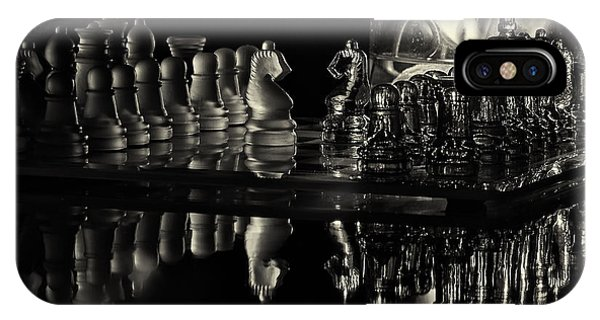 Chess By Candlelight IPhone Case